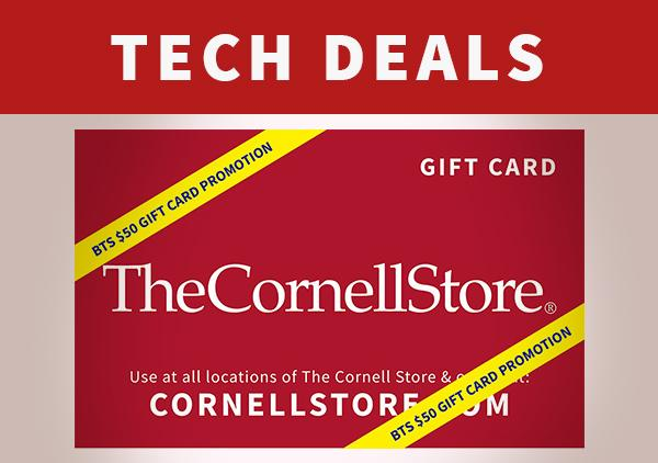 Free $50 Cornell Store Gift Card!