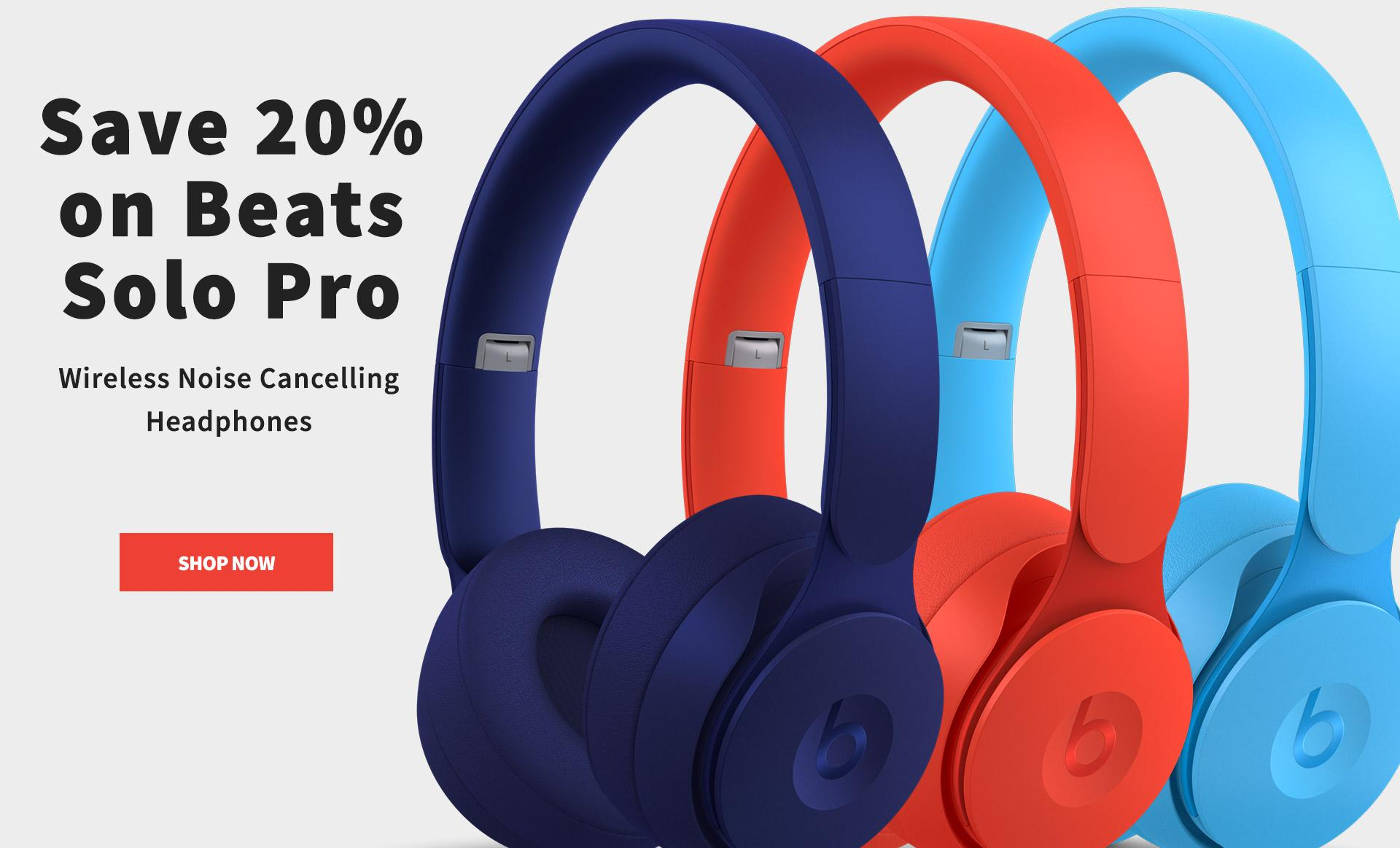 Beats Solo Pro Headphones are 20 percent off through Nov. 21