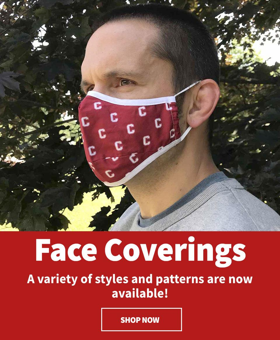 Face coverings - Shop Now