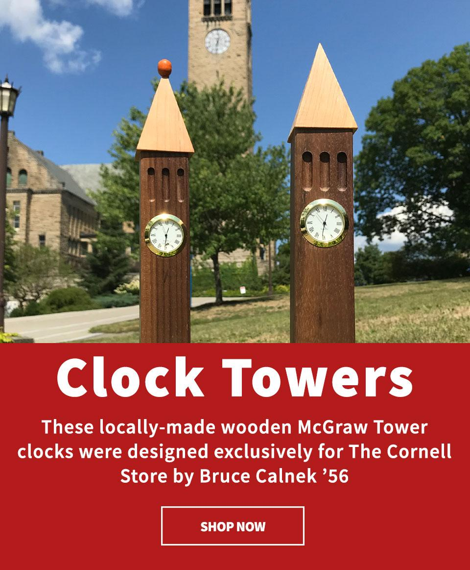 Wooden McGraw Clock Towers - Shop Now
