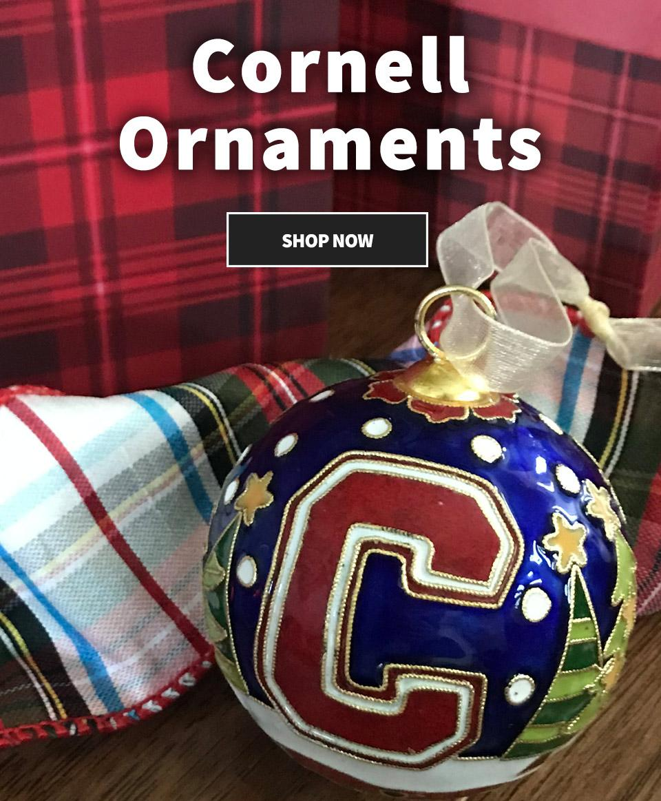 Shop Cornell Holiday Ornaments