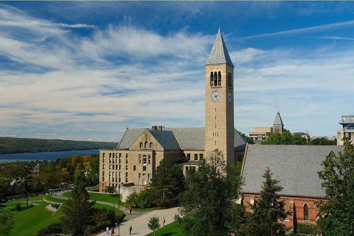 Image of McGraw Tower on Cornell's Campus