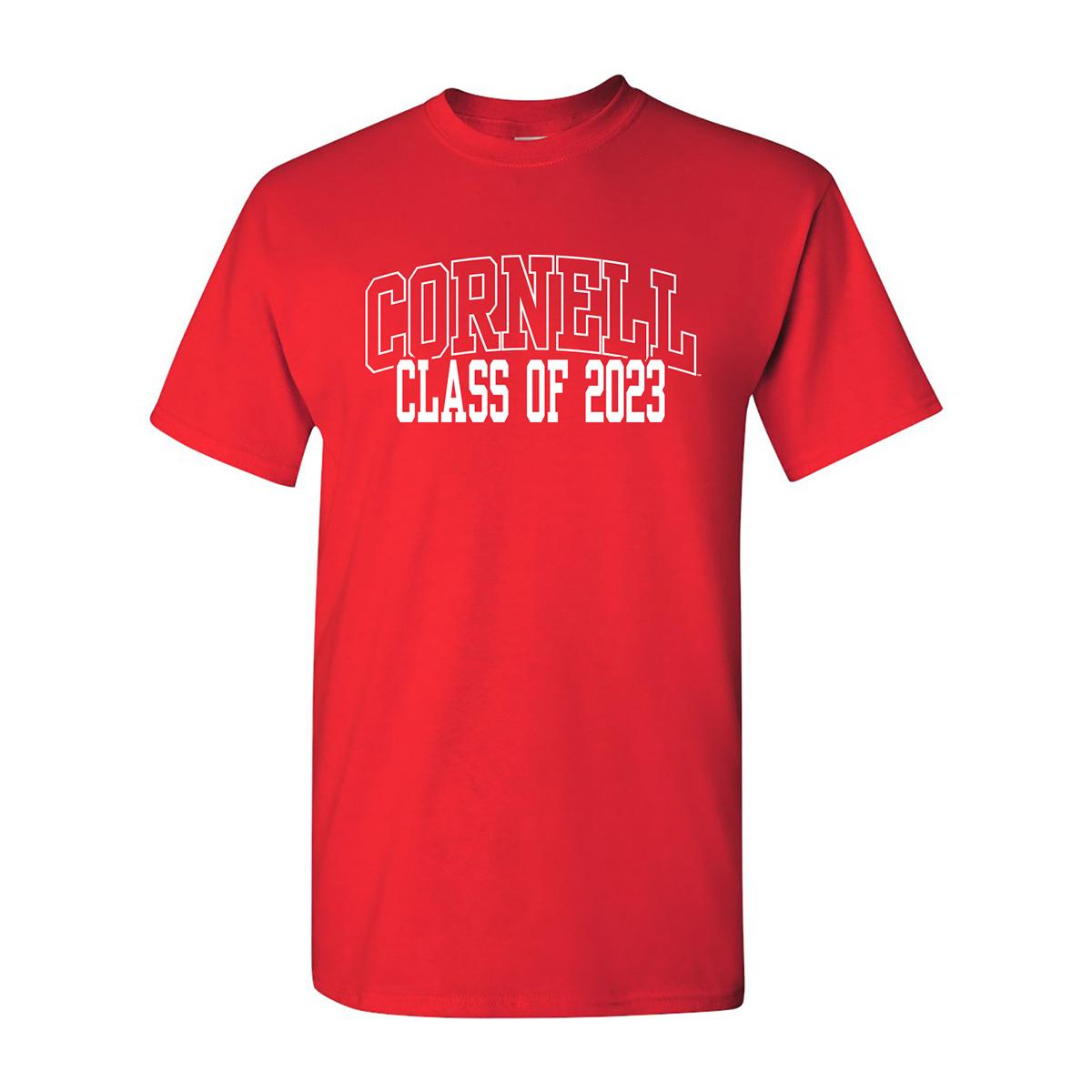 Cornell Class Of 2023 Tee Red