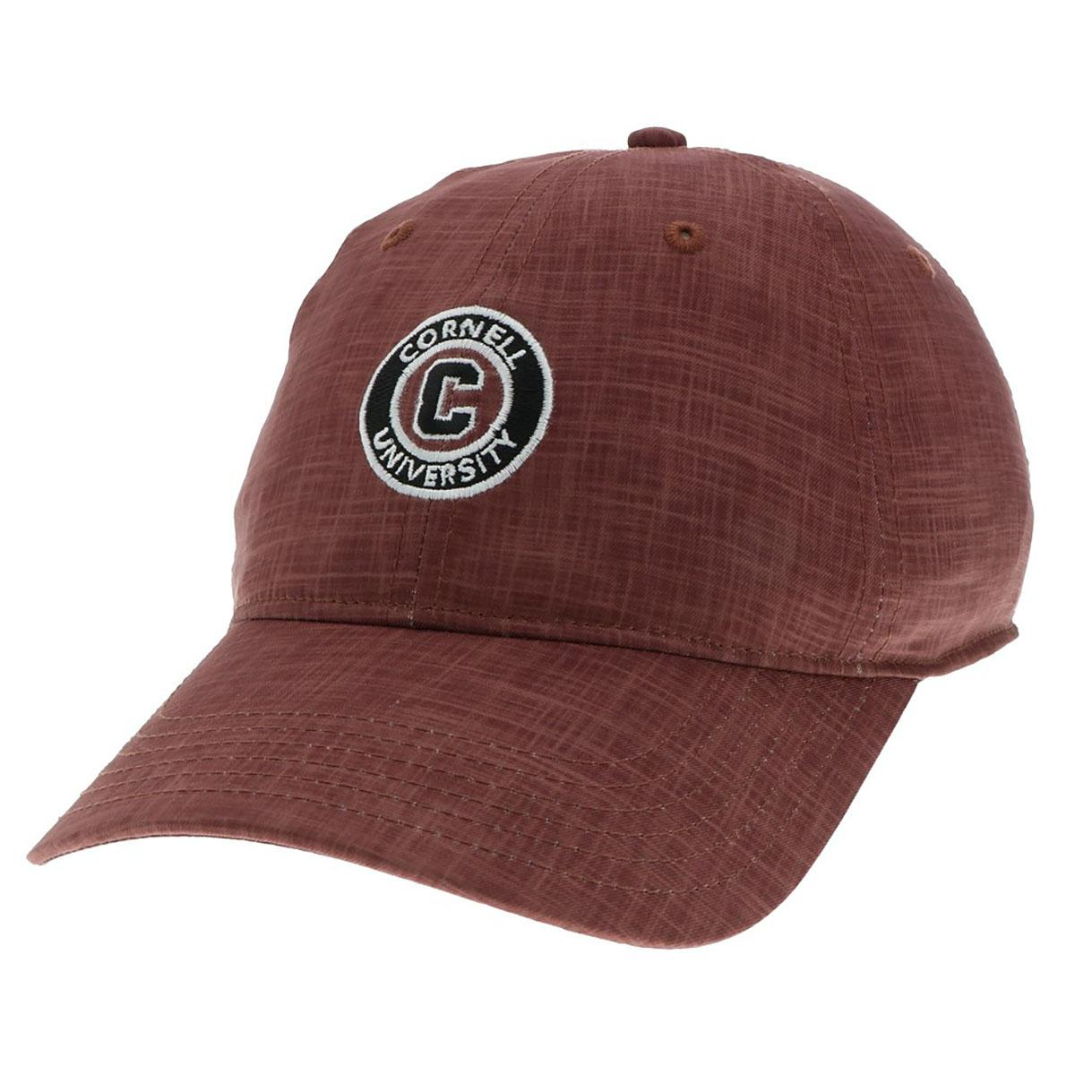 Cornell University Big Red Ivy League NCAA Relaxed Curved Baseball Ball Cap Hat