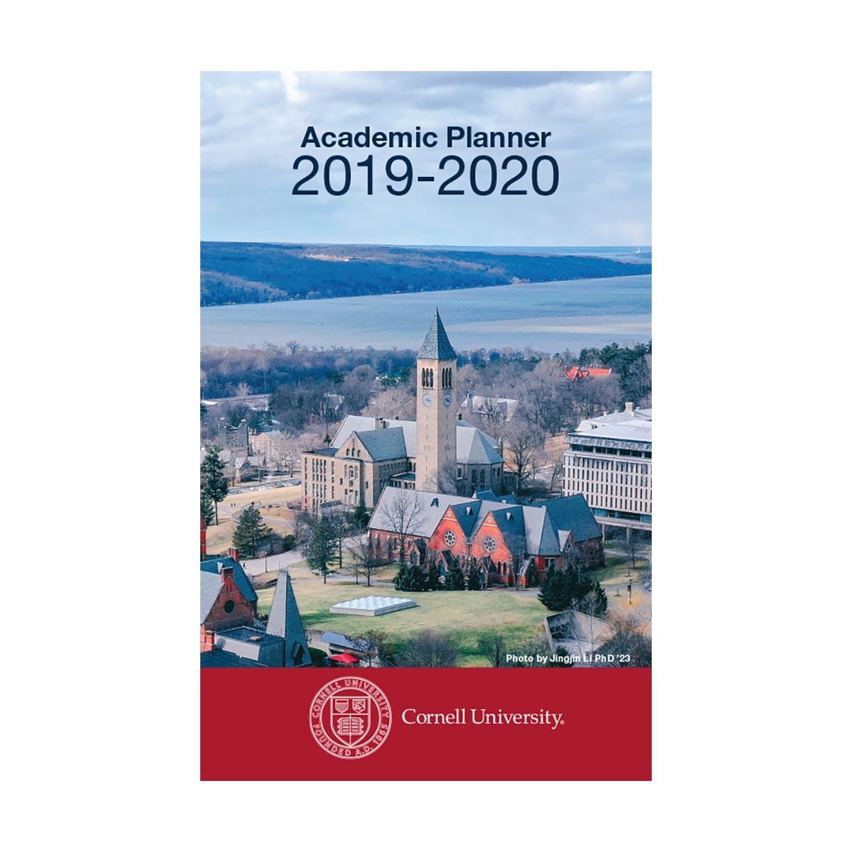 Cornell Spring 2020 Calendar.2019 2020 Academic Planner