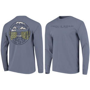 bf9226cc Quick View · Waterfall Ithaca is Gorges Long Sleeve Tee