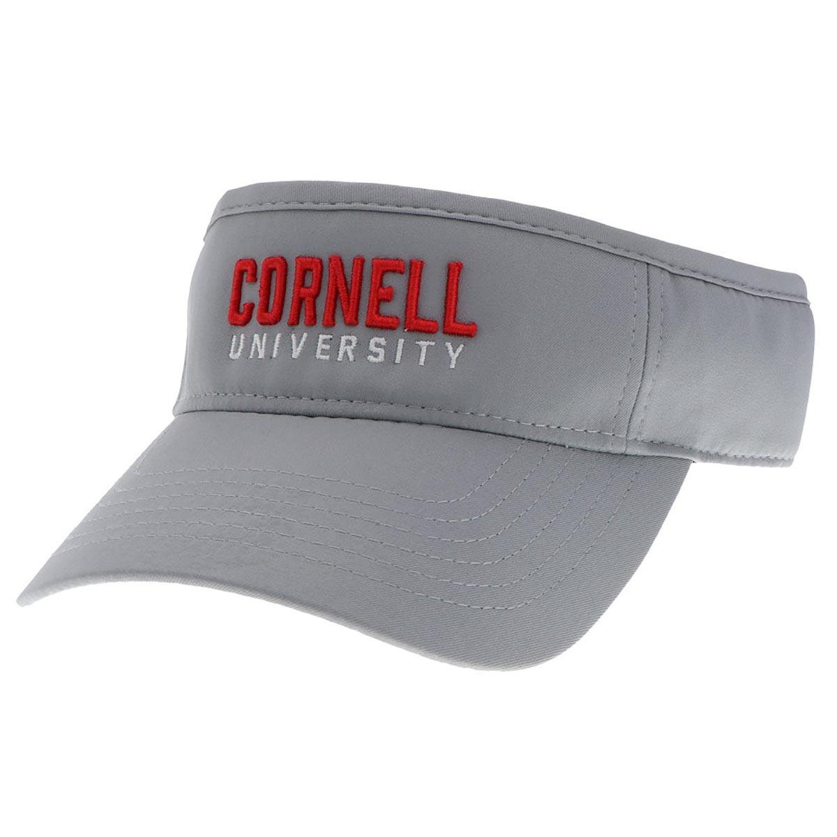 Cornell Raised University Adj  Visor Shark Grey