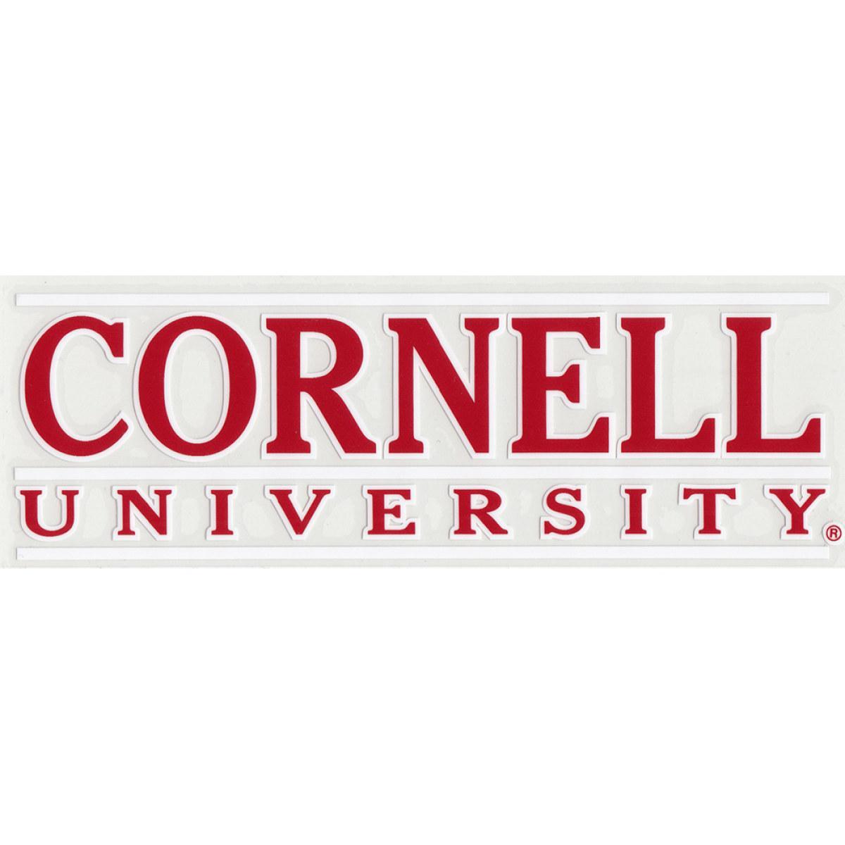 Decal - Bar Logo Cornell University - Outside