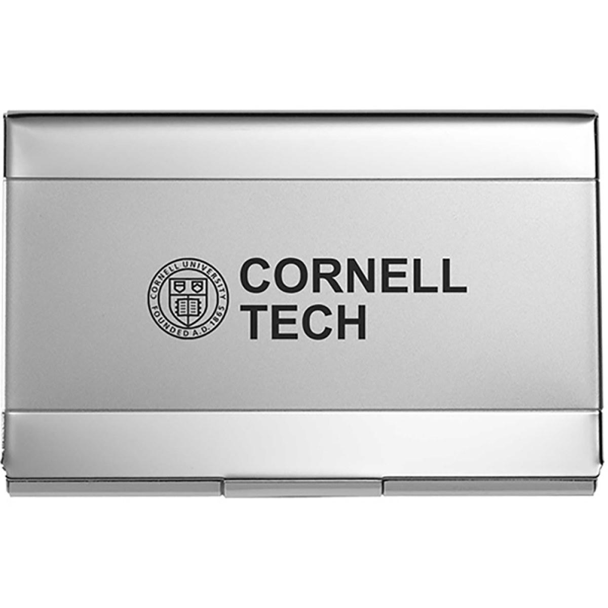Cornell tech business card holder nickel colourmoves