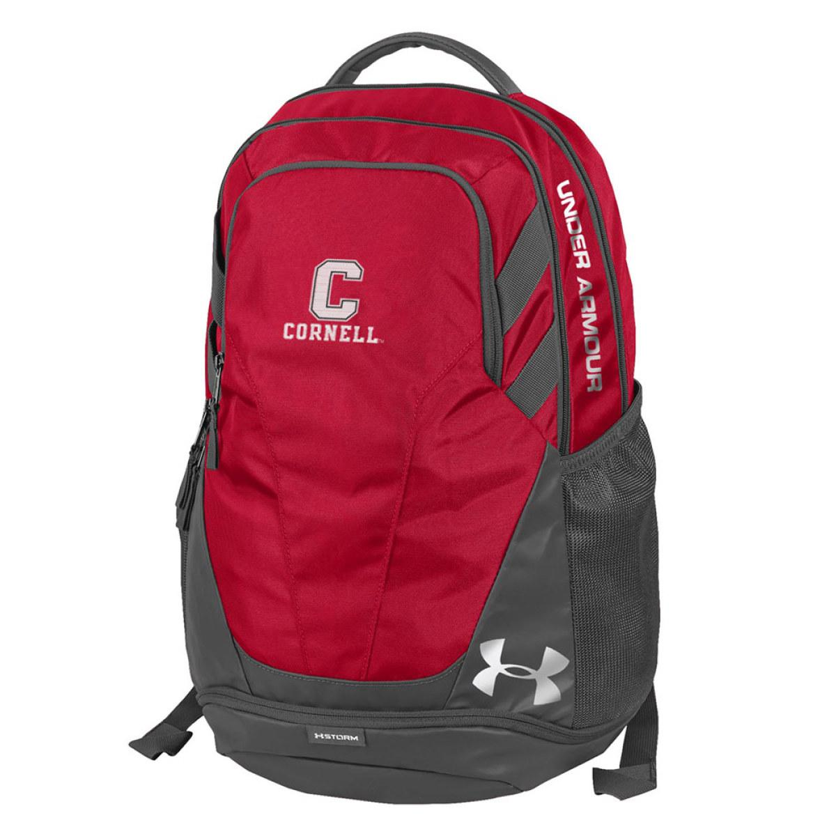 a59d83d9f72 Under Armour Backpack - Red And Gray - Up To 13 Inch Laptop