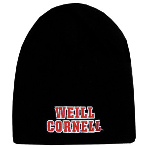 9972f4feab1 Weill Cornell Medicine Rugby Knit Hat - Red And White.  19.99. Quick View