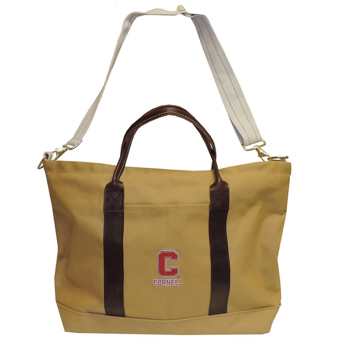 1c83c26c30 Khaki Canvas Tote Bag