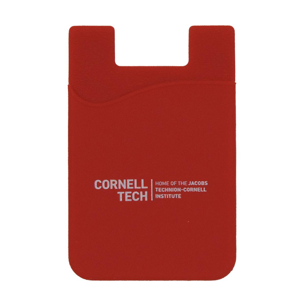 Phone Card Holder >> Cornell Tech Cell Phone Card Holder