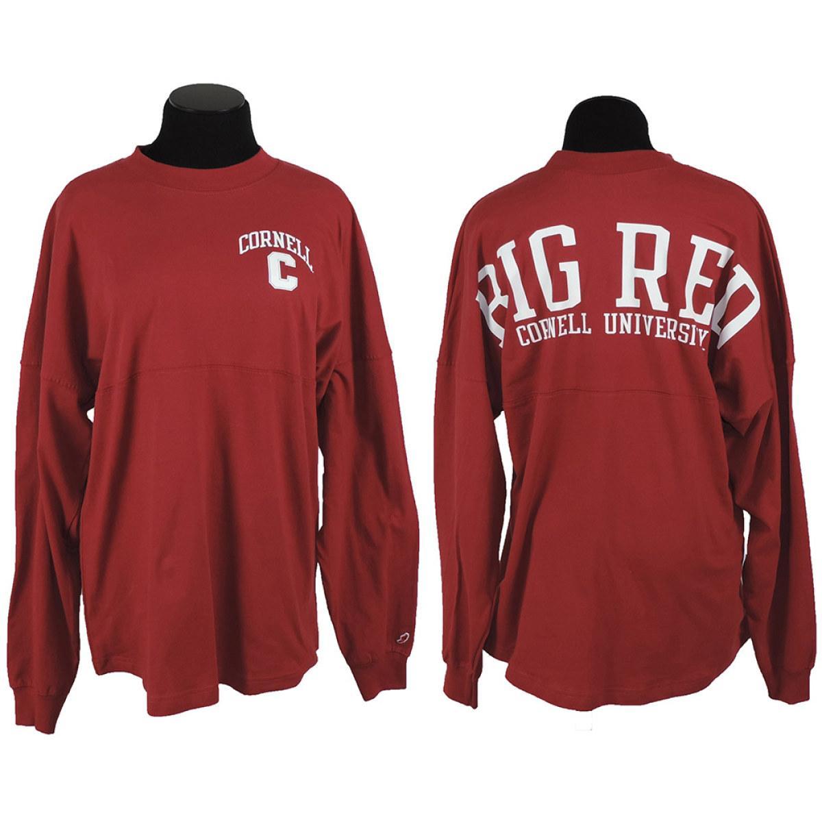 31519f36dafb Women s Long Sleeve Tee Ra Ra Big Red - Red