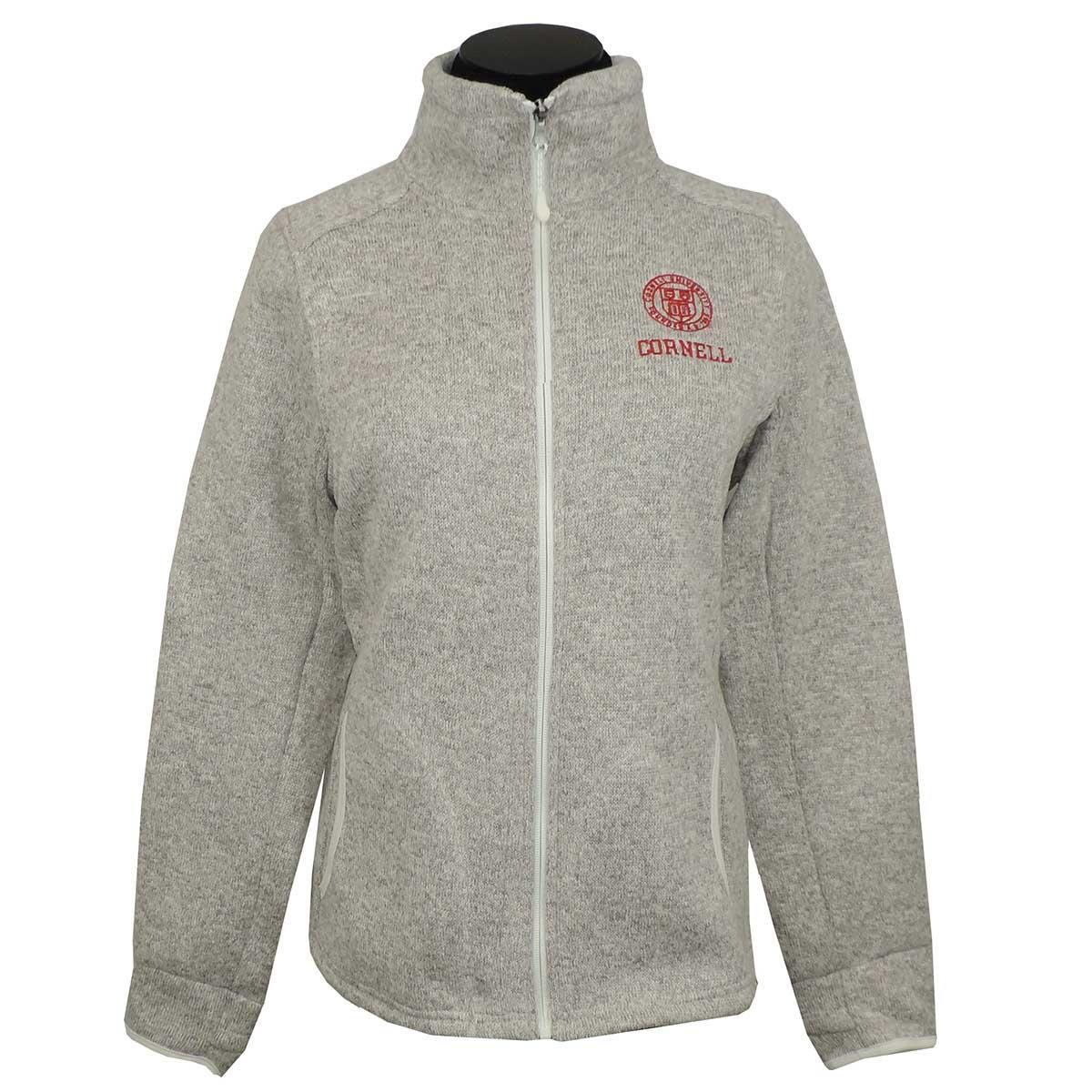 1e7e5b70a Women's Full Zip Fleece Jacket - Oatmeal