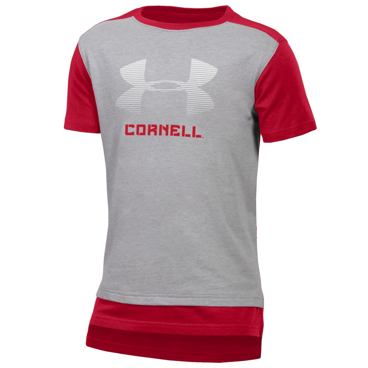 Under Armour Youth Colorblock Tee - Cornell